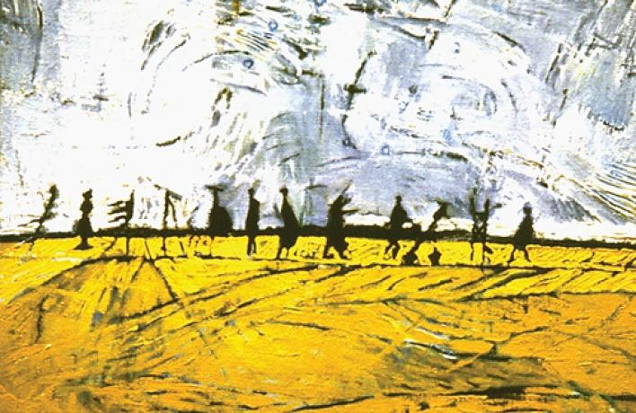 Арт-исповедь художника, закрученная вокруг темы перемещений