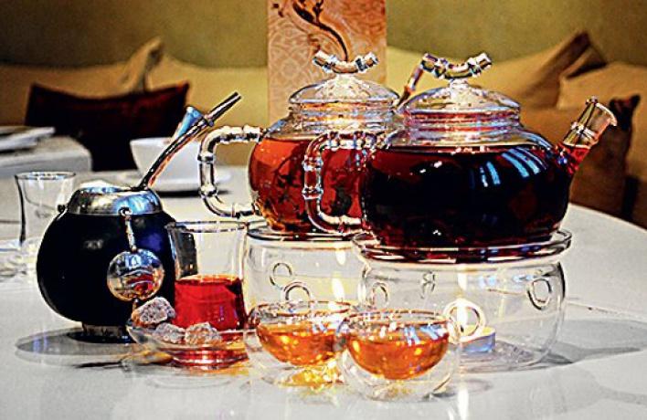 Новое чайное меню в«Шафране»
