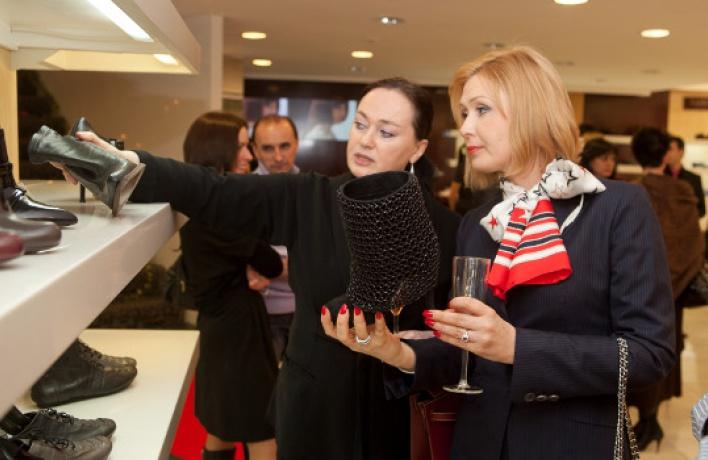 Вмагазине Rendez-vous состоялась презентация новой коллекции обуви
