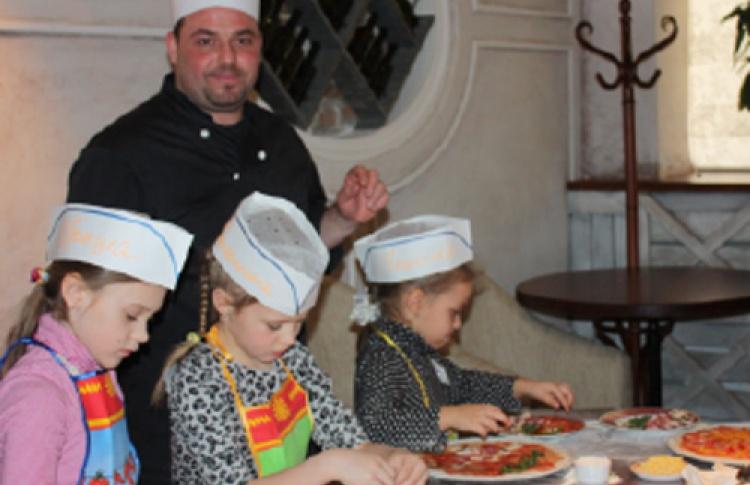 Детские кулинарные уроки вMassimo