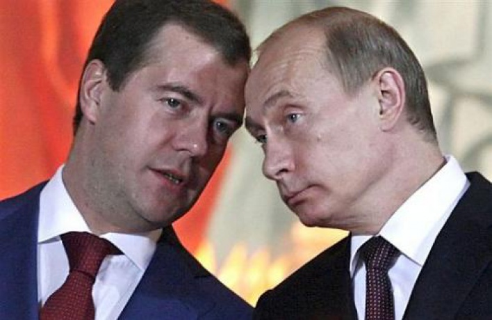 Появился новый трейлер фильма «2012» сПутиным иМедведевым