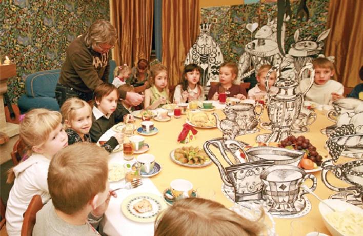 Обзор мест где можно провести детский праздник