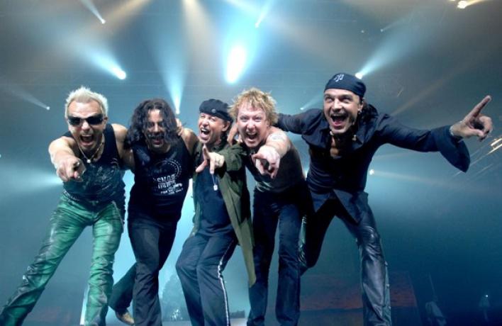 «Scorpions» отыграют свой последний концерт вМоскве