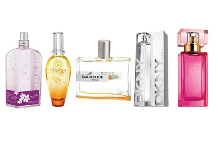 5новых весенних ароматов