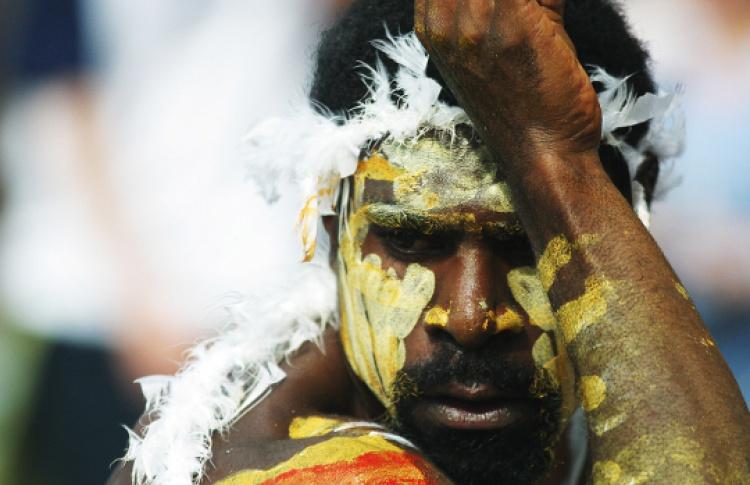 """Шоу австралийских аборигенов """"Сотворение мира"""""""