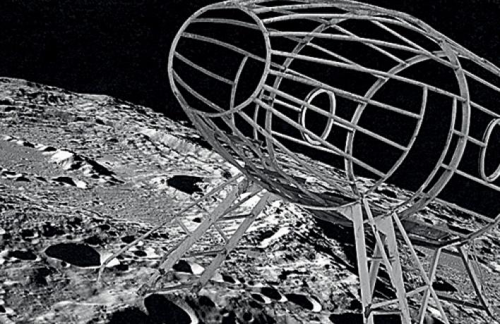 Инсталляция «Космодвор» Надежды Анфаловой