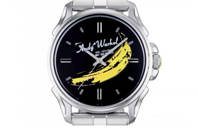 ВBestwatch появилась серия часов сфрагментами картин Энди Уорхола