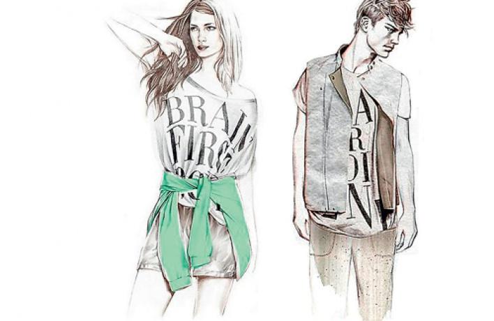 Мода наздоровье вH&M