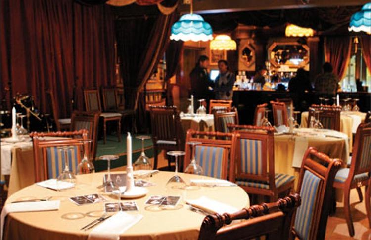 Гастрономический ужин ипрезентация календаря на2011 год откомпании «Виником»