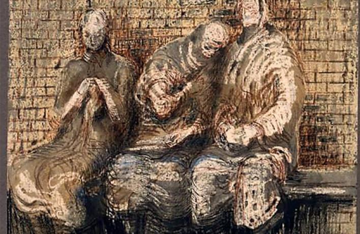 Выставка работ Генри Мура вЭрмитаже