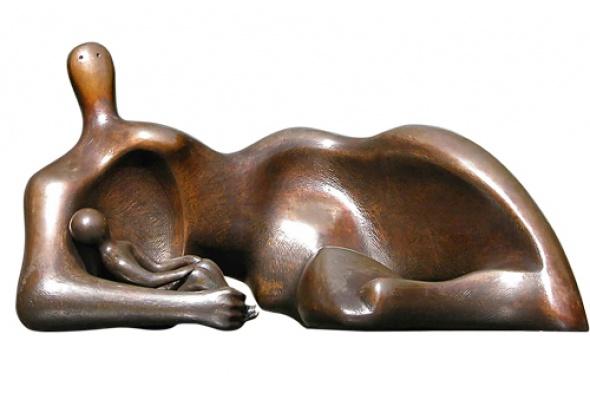 Выставка работ Генри Мура вЭрмитаже - Фото №0