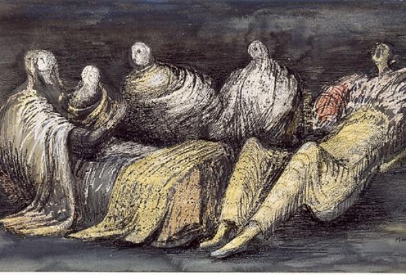 Выставка работ Генри Мура вЭрмитаже - Фото №2