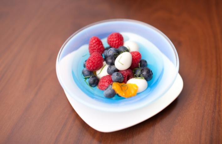 Необычные десерты вNobu
