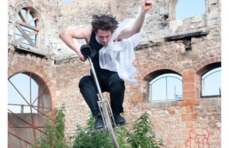 """Фестиваль """"Летающие дети"""": Ecole Cirque Bordeaux (Франция)"""