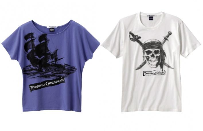 Пиратские футболки Uniqlo