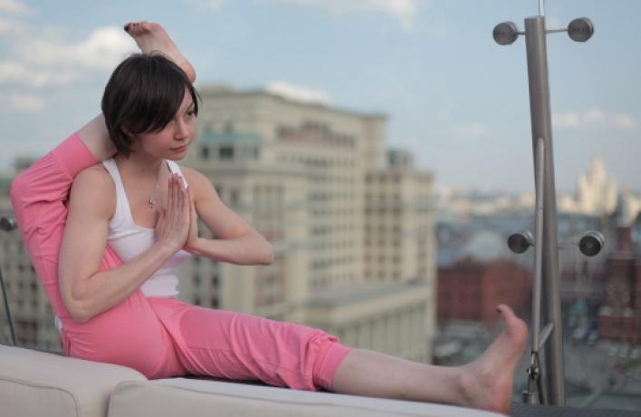 Йога под открытым небом