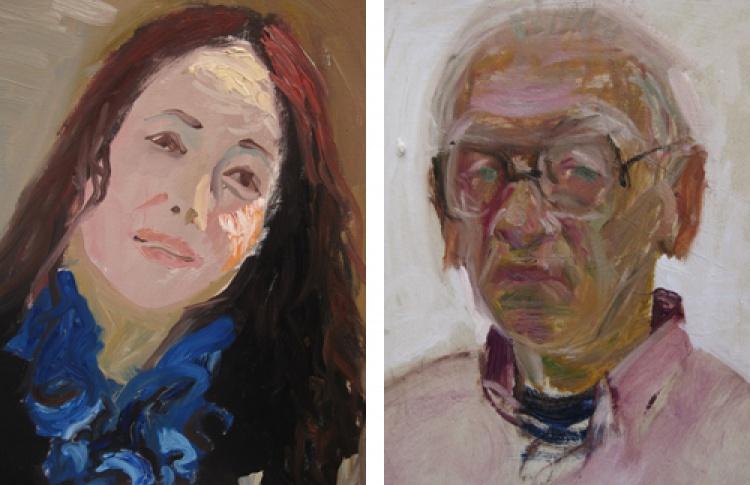 """Выставка портретов """"Таланты и поклонники"""""""