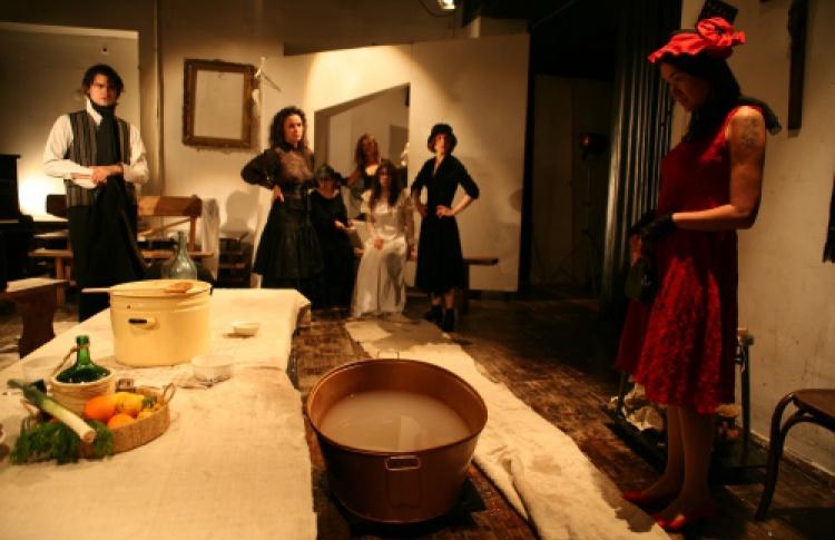Почти спектакль, почти по Пиранделло, или Танец смерти - реанимация