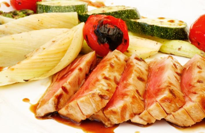 Вновь начал свою работу летний ресторан «Лужайка»