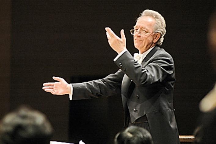 Академический симфонический оркестр Санкт-Петербургской Филармонии, дирижер Юрий Темирканов. Канчели, Брамс