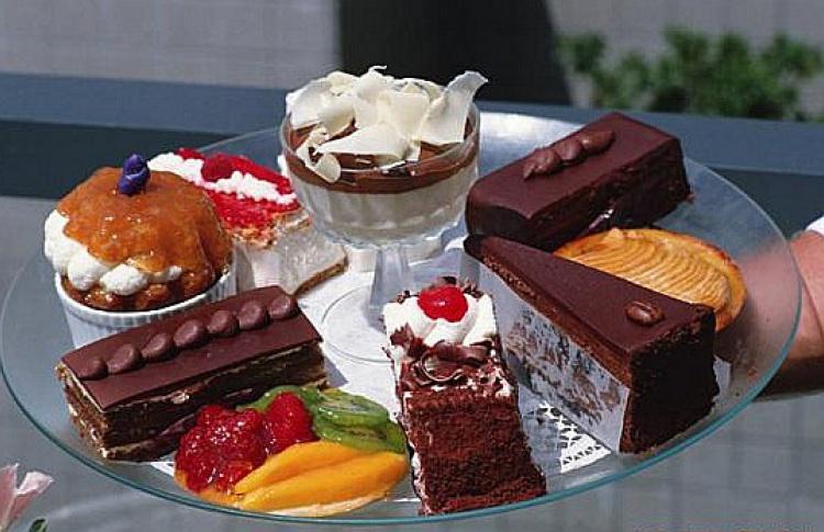 ВЕкатерининском парке проходит выставка сладостей
