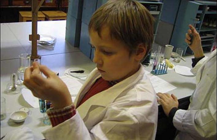 ВПолитехе открылась школа химиков