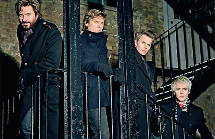 Duran Duran везут вЛедовый дворец свежий материал
