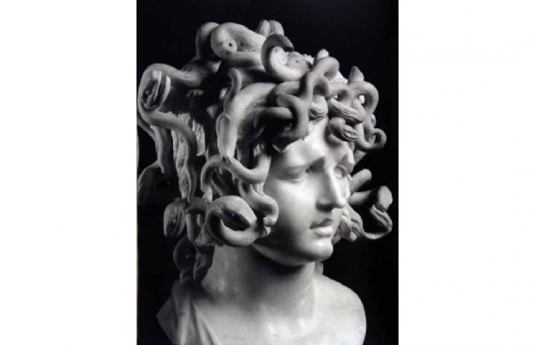 "Джованни Лоренцо Бернини ""Голова медузы"""