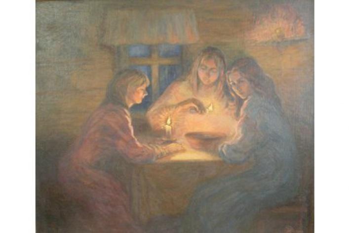 Выставка работ студентов и педагогов Суздальского художественного реставрационного училища