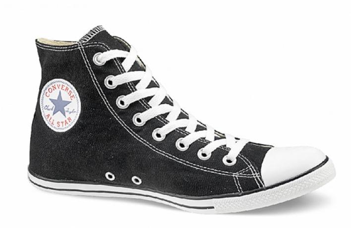 Вмагазинах Fabulous Converse иFabulous T.U.K. можно купить кеды любого размера