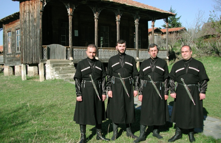 Chanters group Tbilisi