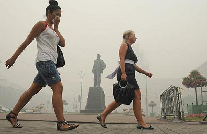 «Гринпис» гарантирует смог этим летом