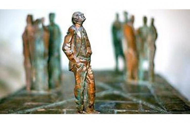 Приём, посвященный установке памятника И. Бродского работы скульптора Г.Франгуляна