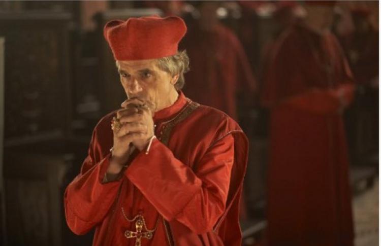 Интервью сактером Джереми Айронс, играющим главного героя вкультовом сериале «Борджиа»