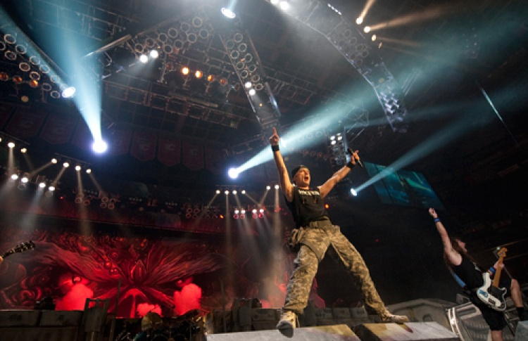 Iron Maiden (Великобритания). The Final Frontier World Tour 2011