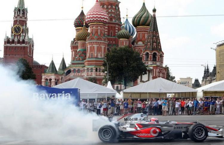 Вокруг Кремля поедут машины «Формулы-1»