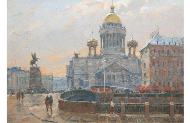 Выставка произведений из собрания галереи «Художественное бюро»