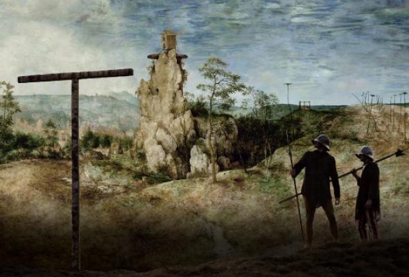 Мельница и крест - Фото №3