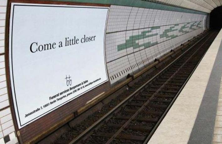 Нацелый месяц изметро исчезнет реклама