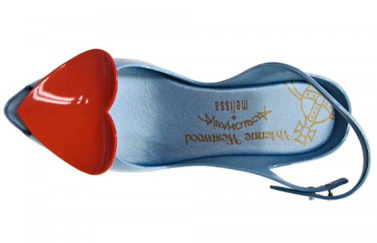 Вивьен Вествуд сделала новую коллекцию туфель для марки Melissa