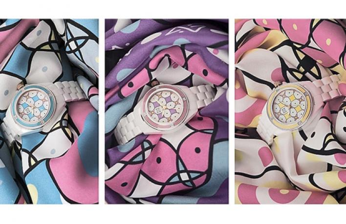 Максим Черницов придумал для российской марки «Ника» часы скерамическим корпусом