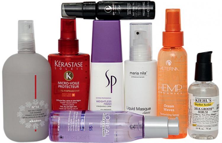 8средств для летней укладки волос