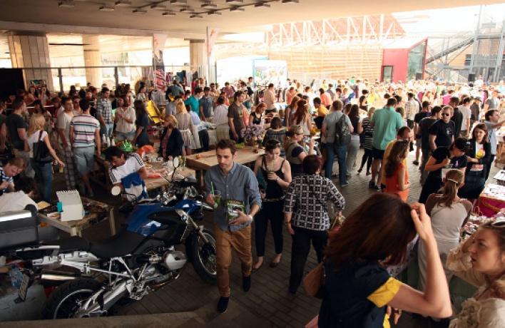 Friendly Market на«Красном Октябре»