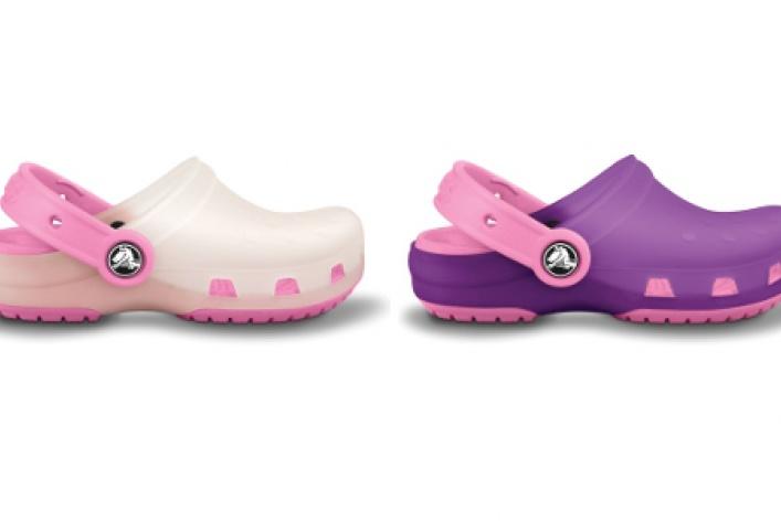 Детские «хамелеоны» Crocs