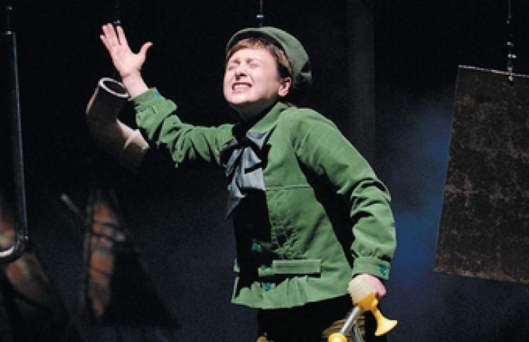 """VIII Международный театральный фестиваль """"Радуга"""": """"Зеленая птичка"""""""