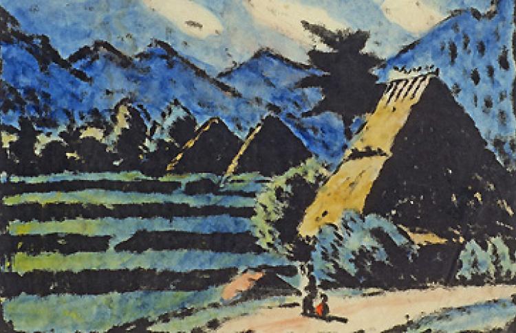 Варвара Бубнова - самая японская русская художница