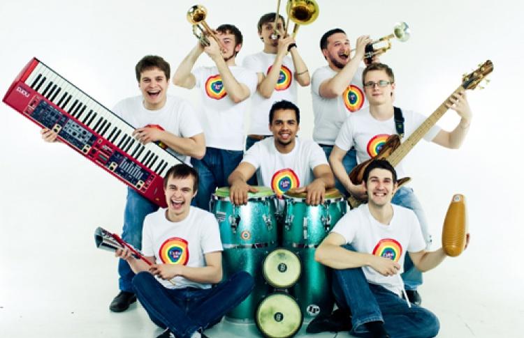 Salsa-band Cuba Jam