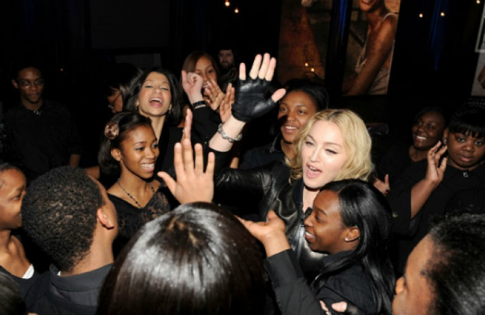 Мадонна записывает новый альбом