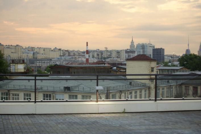 Крыша Artplay