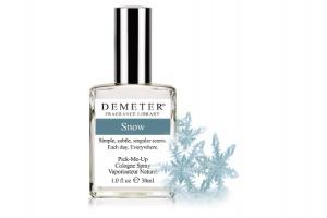 Духи Demeter сзапахом снега, грозы илосьона для загара